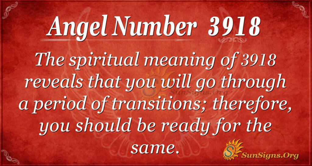 3918 angel number