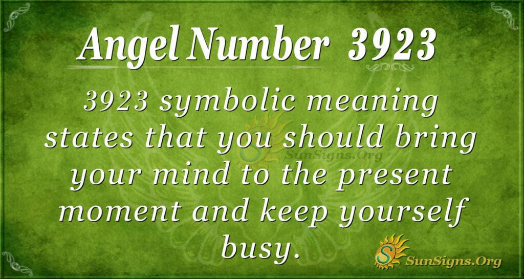 3923 angel number