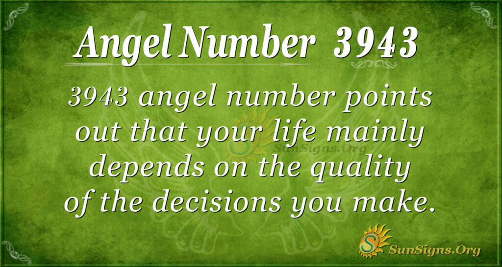 3943 angel number