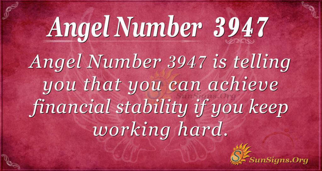3947 angel number
