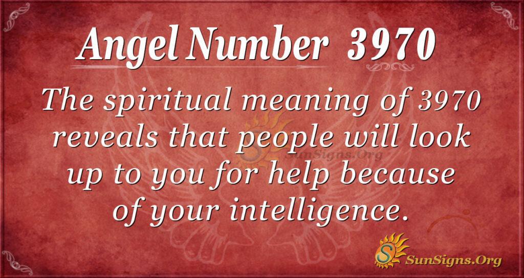 3970 angel number