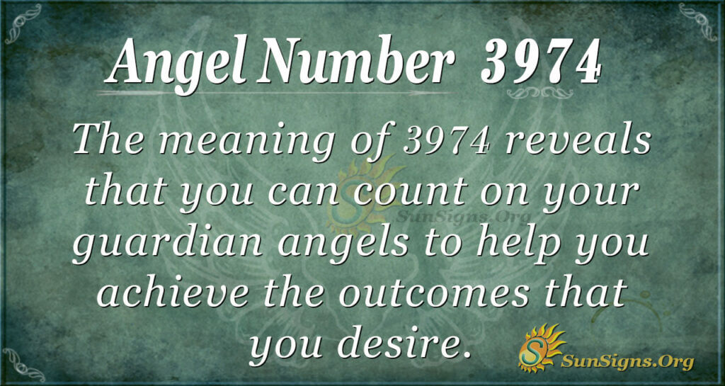 3974 angel number