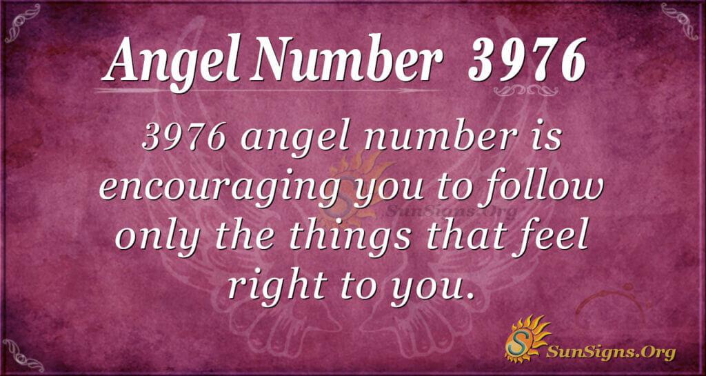 3976 angel number