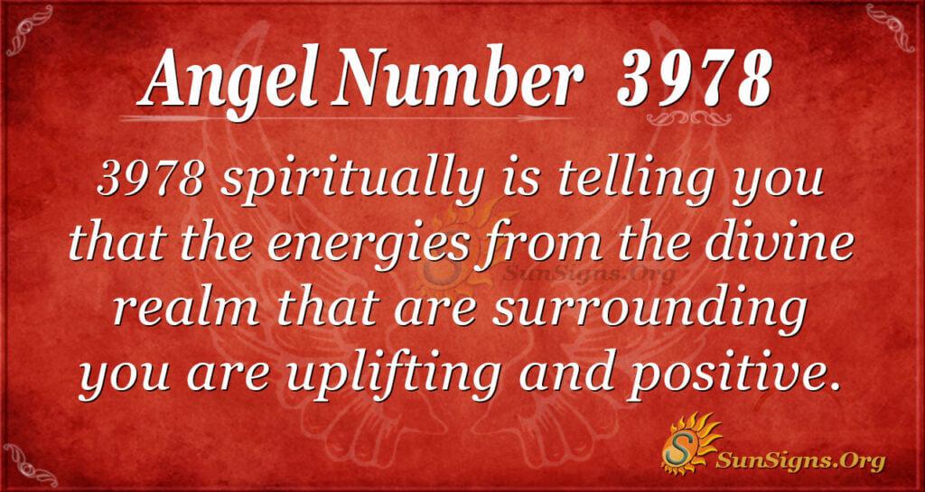 3978 angel number