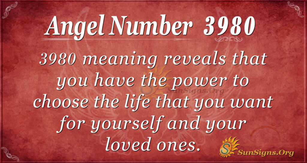 3980 angel number