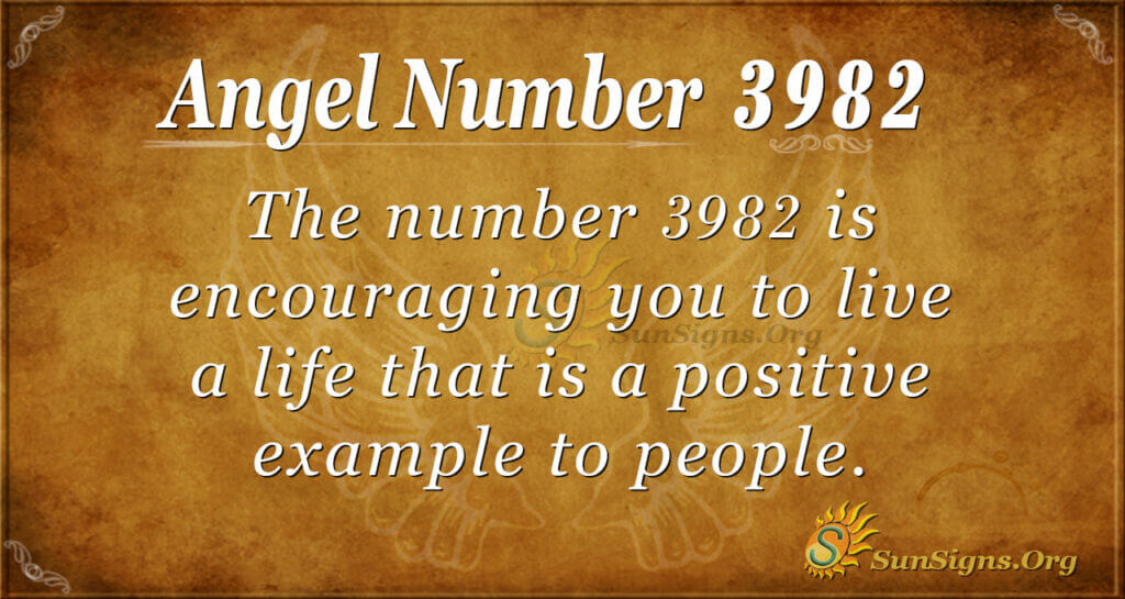 3982 angel number