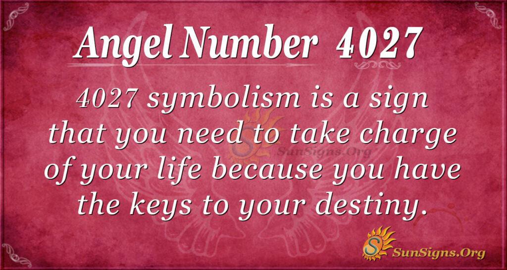 4027 angel number