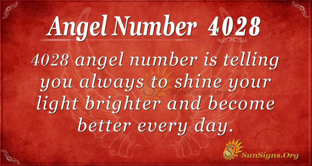 4028 angel number