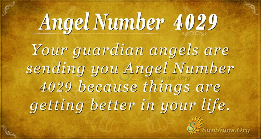 4029 angel number