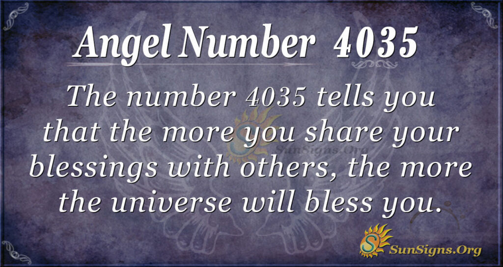 4035 angel number