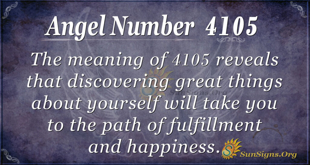 4105 angel number