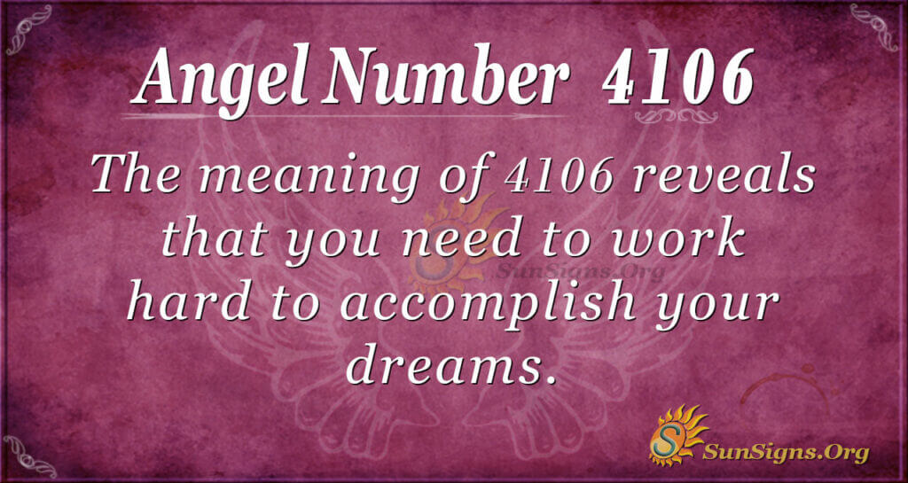 4106 angel number