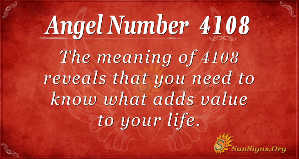 4108 angel number