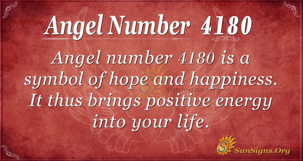 4180 angel number