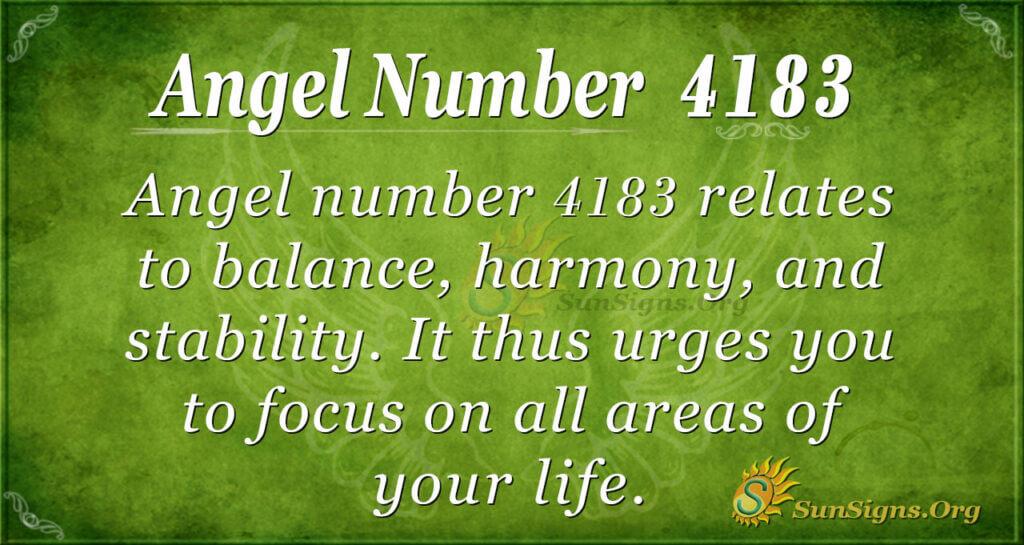 4183 angel number