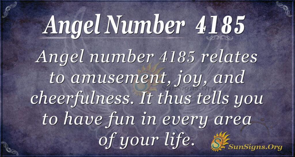 4185 angel number