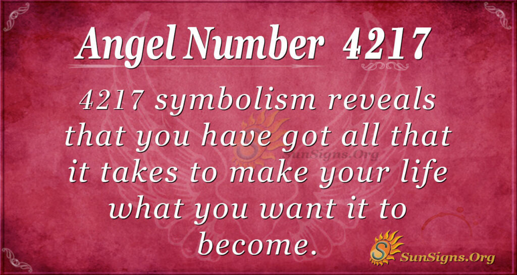 4217 angel number