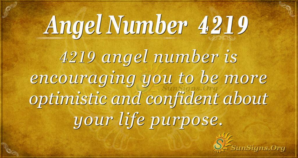 4219 angel number