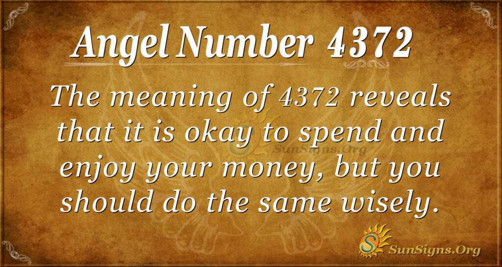 4372 angel number