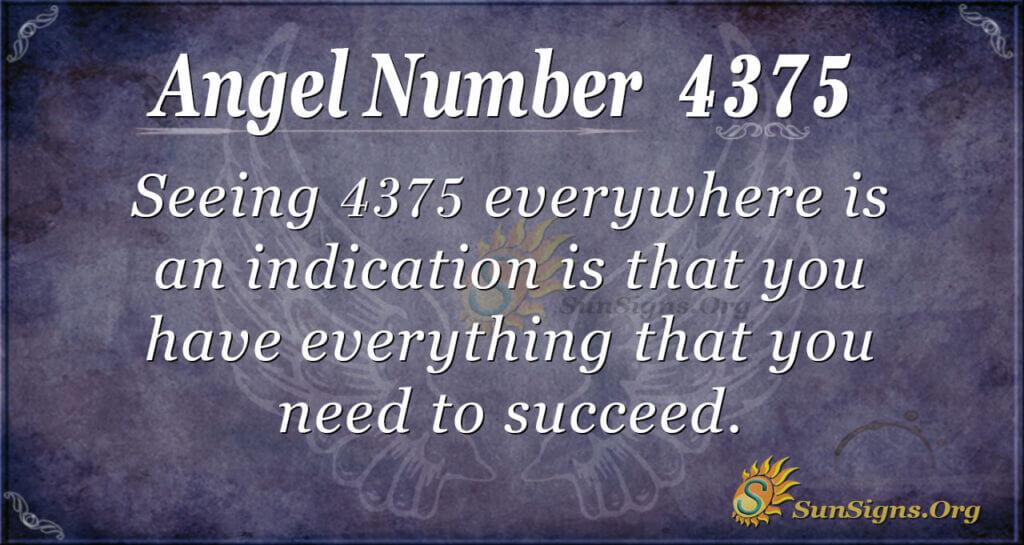4375 angel number