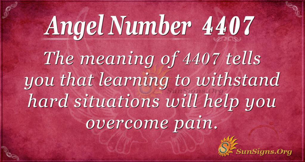4407 angel number