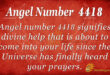 4418 angel number
