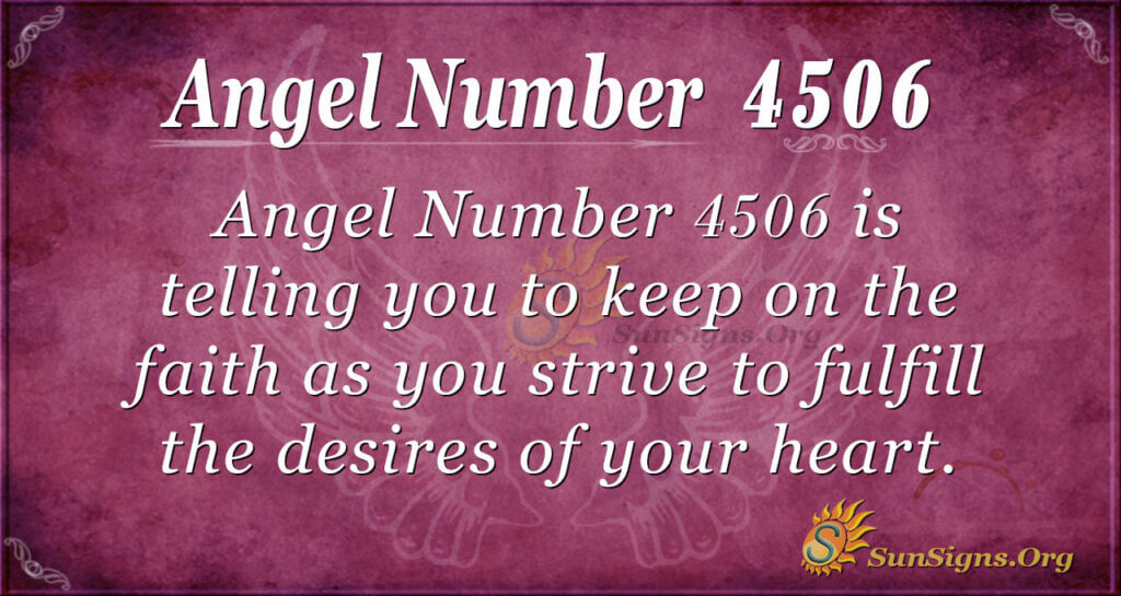 4506 angel number