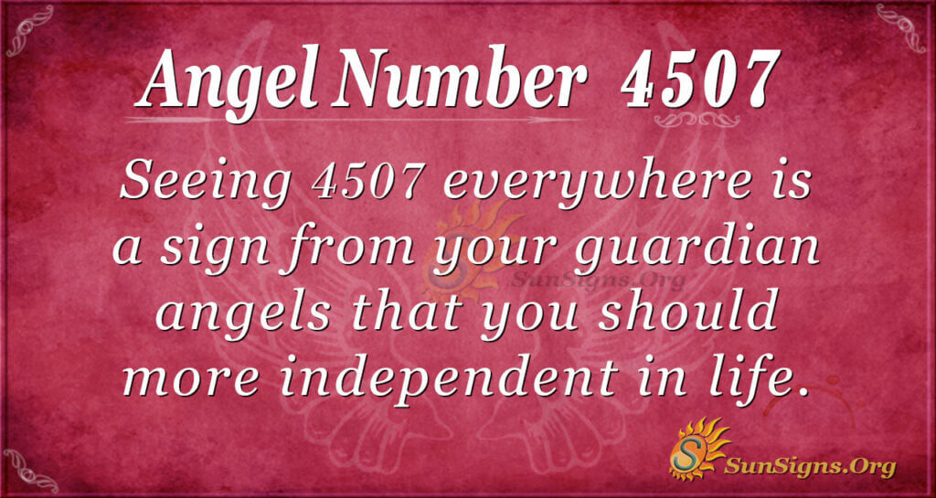 4507 angel number