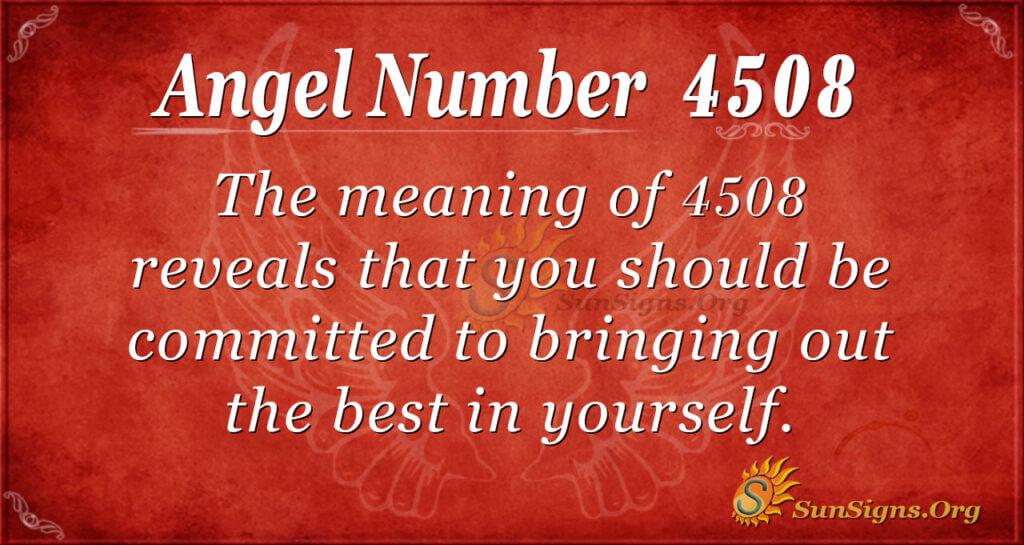 4508 angel number