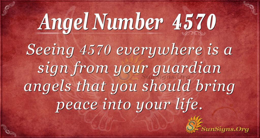 4570 angel number