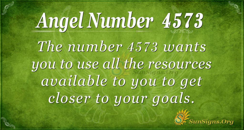 4573 angel number