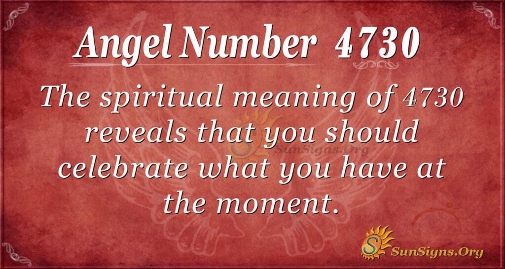 4730 angel number