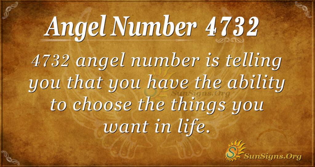 4732 angel number