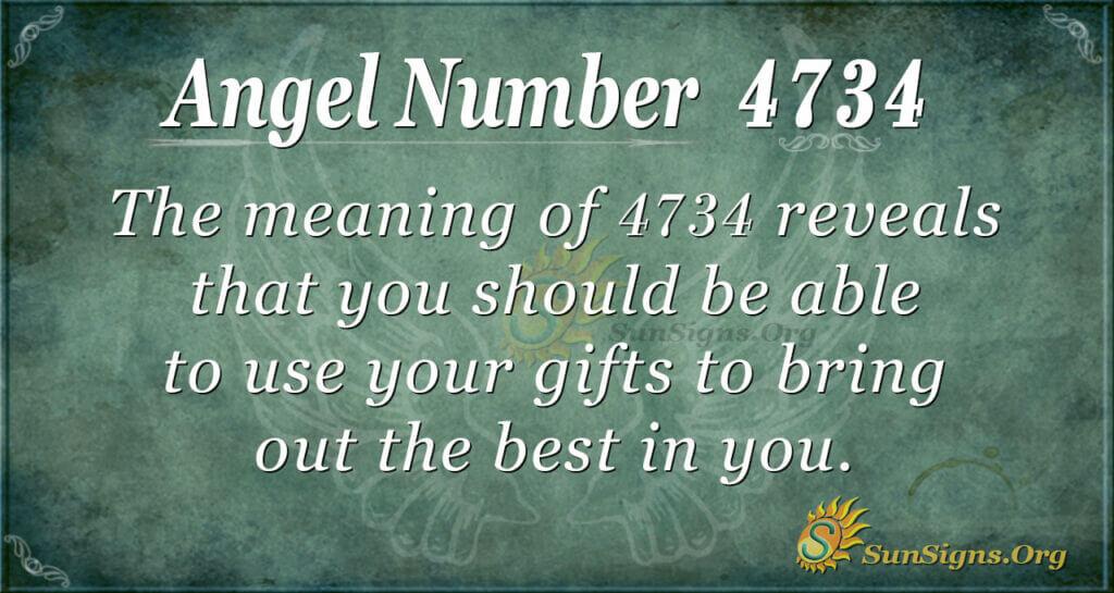 4734 angel number