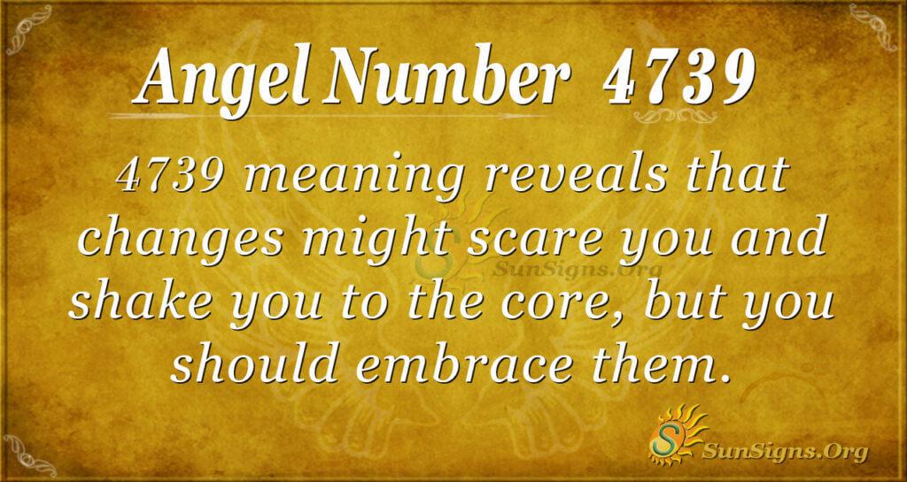 4739 angel number