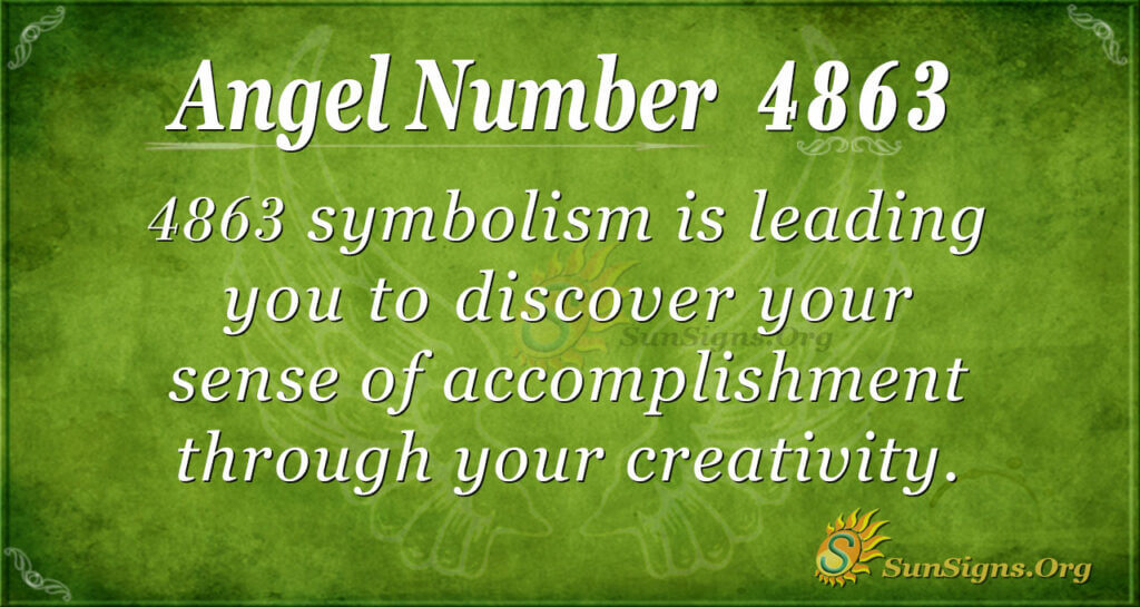 4863 angel number