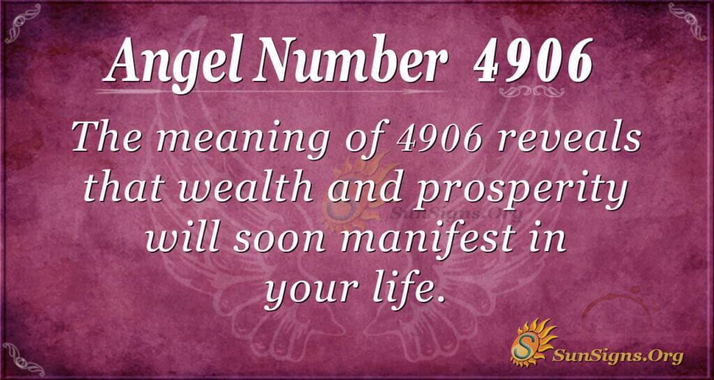 4906 angel number