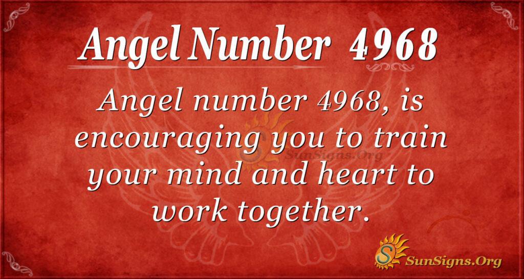 4968 angel number