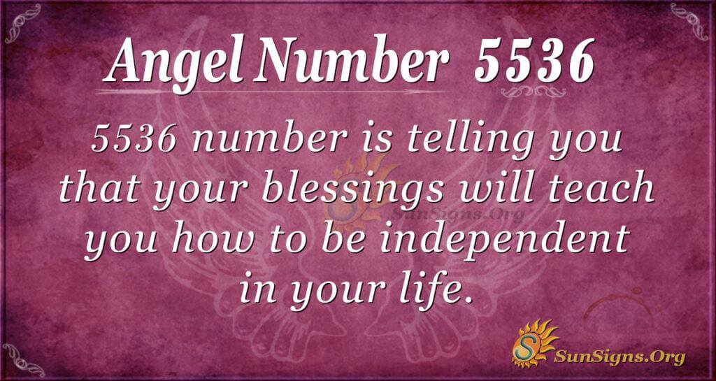 5536 angel number