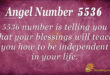 5536 angel number