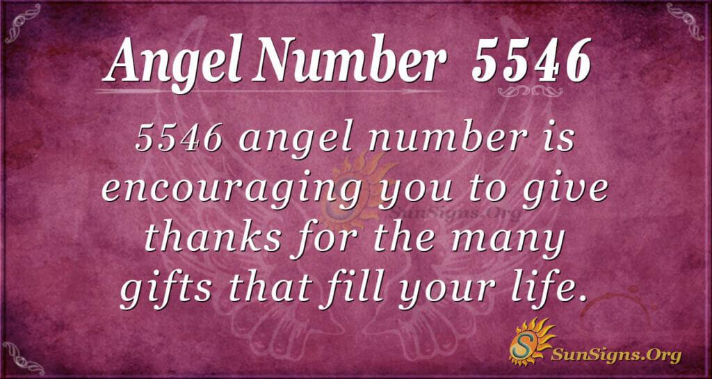 5546 angel number