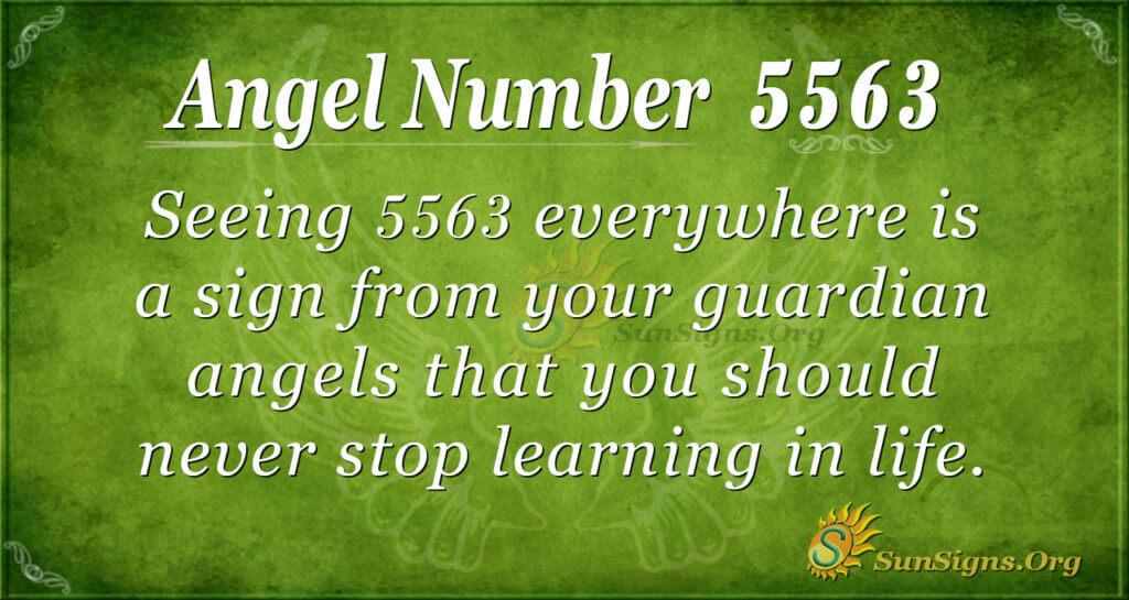 5563 angel number