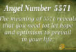 5571 angel number