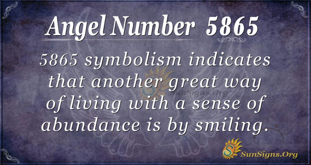 5865 angel number