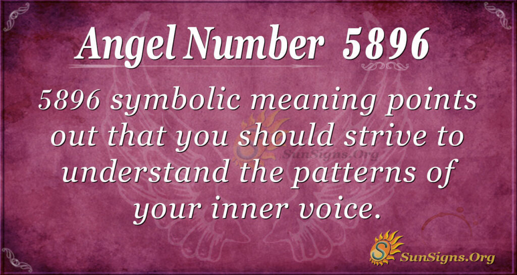 5896 angel number