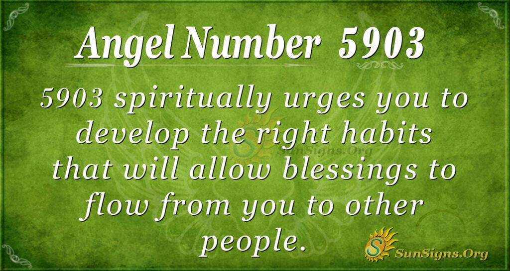 5903 angel number