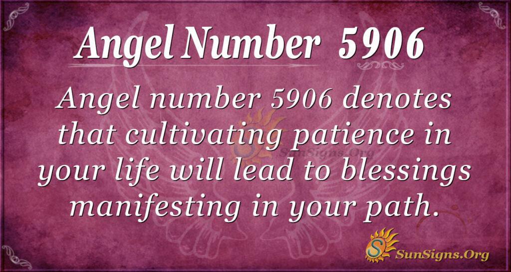 5906 angel number
