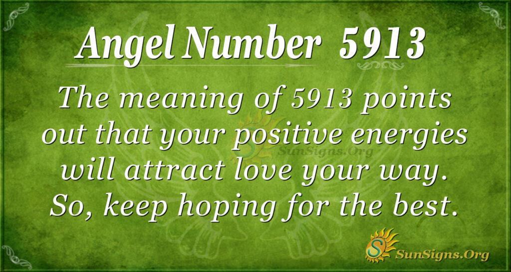 5913 angel number