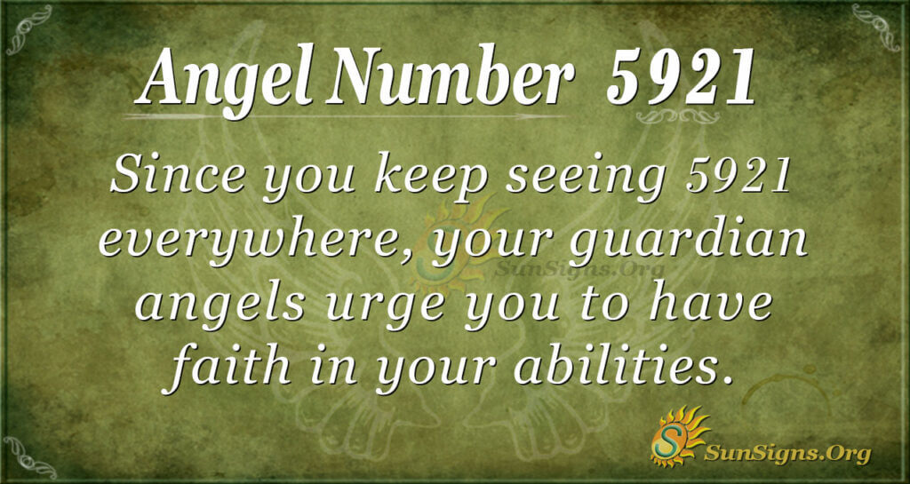 5921 angel number