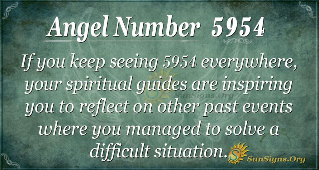 5954 angel number
